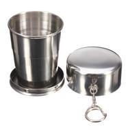 لیوان دربدار فلزی