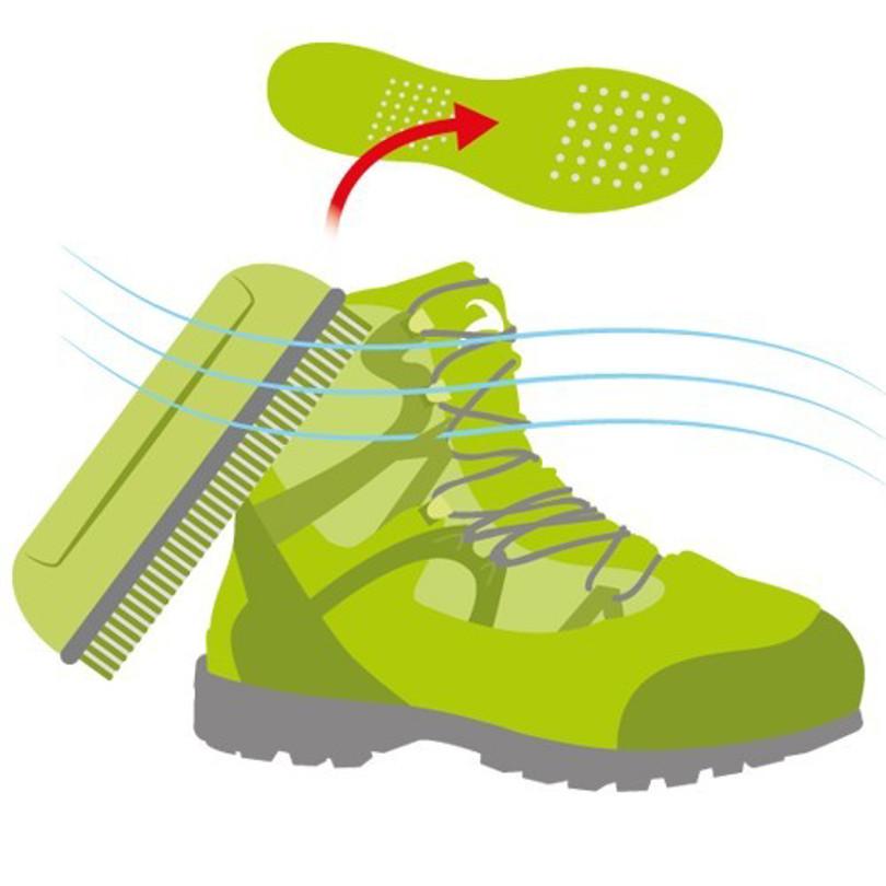 طریقه شستشوی کفش کوهنوردی + ویدیو