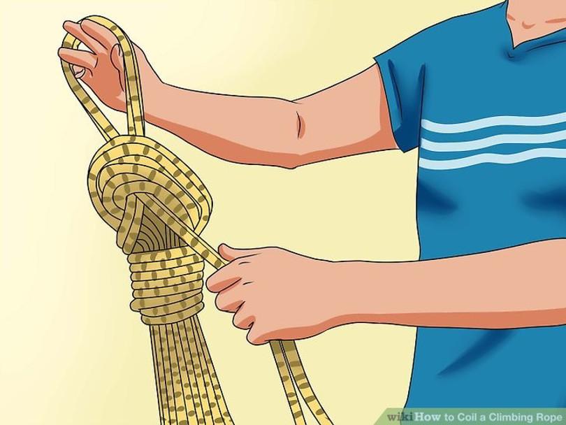 روشهای جمع کردن طناب های کوهنوردی