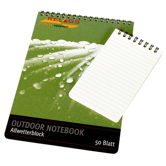 دفترچه ضدآب بزرگ