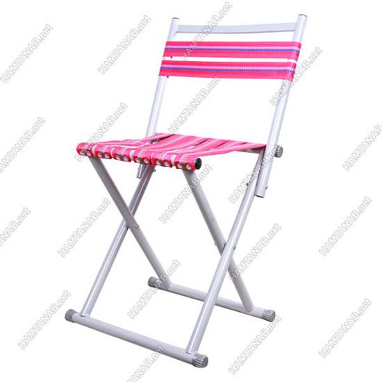 صندلی تاشو تسمه دار