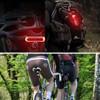 چراغ خطر عقب دوچرخه